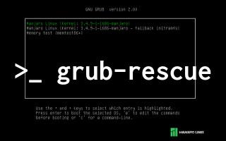 Grub-Rescue Problemi ve Yeniden Grub Yüklemek - Ucbirim com