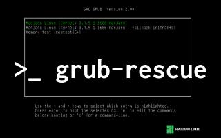 Grub-Rescue Problemi ve Yeniden Grub Yüklemek